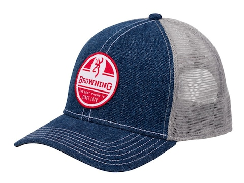 Browning RWB Mesh Back Cap Denim