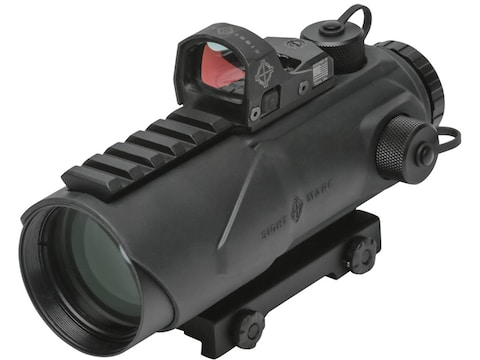 Sightmark Wolfhound Prism Sight 6x 44mm Red/Green HS-223 Reticle with Picatinny-Style M...