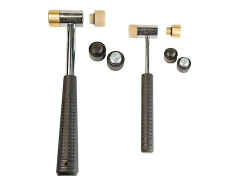 Wheeler 11-Piece Master Gunsmith Interchangeable Head Hammer Set