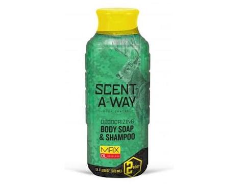 Hunter's Specialties Scent-A-Way MAX Scent Eliminator Body Wash/Shampoo 24 oz
