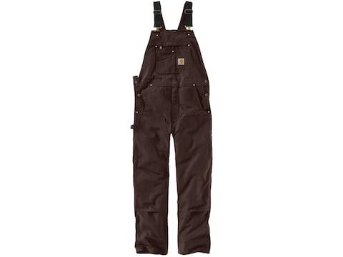 Carhartt Men's Duck Bib Overalls Unlined Cotton