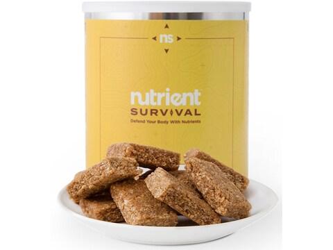 Nutrient Survival Honey Granola Bar Meals Freeze Dried Food 10 Serving