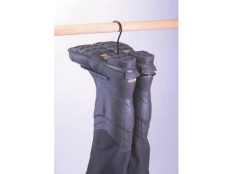 "Rack'Em Racks ""The Snake"" Wader Hanger Steel Black"