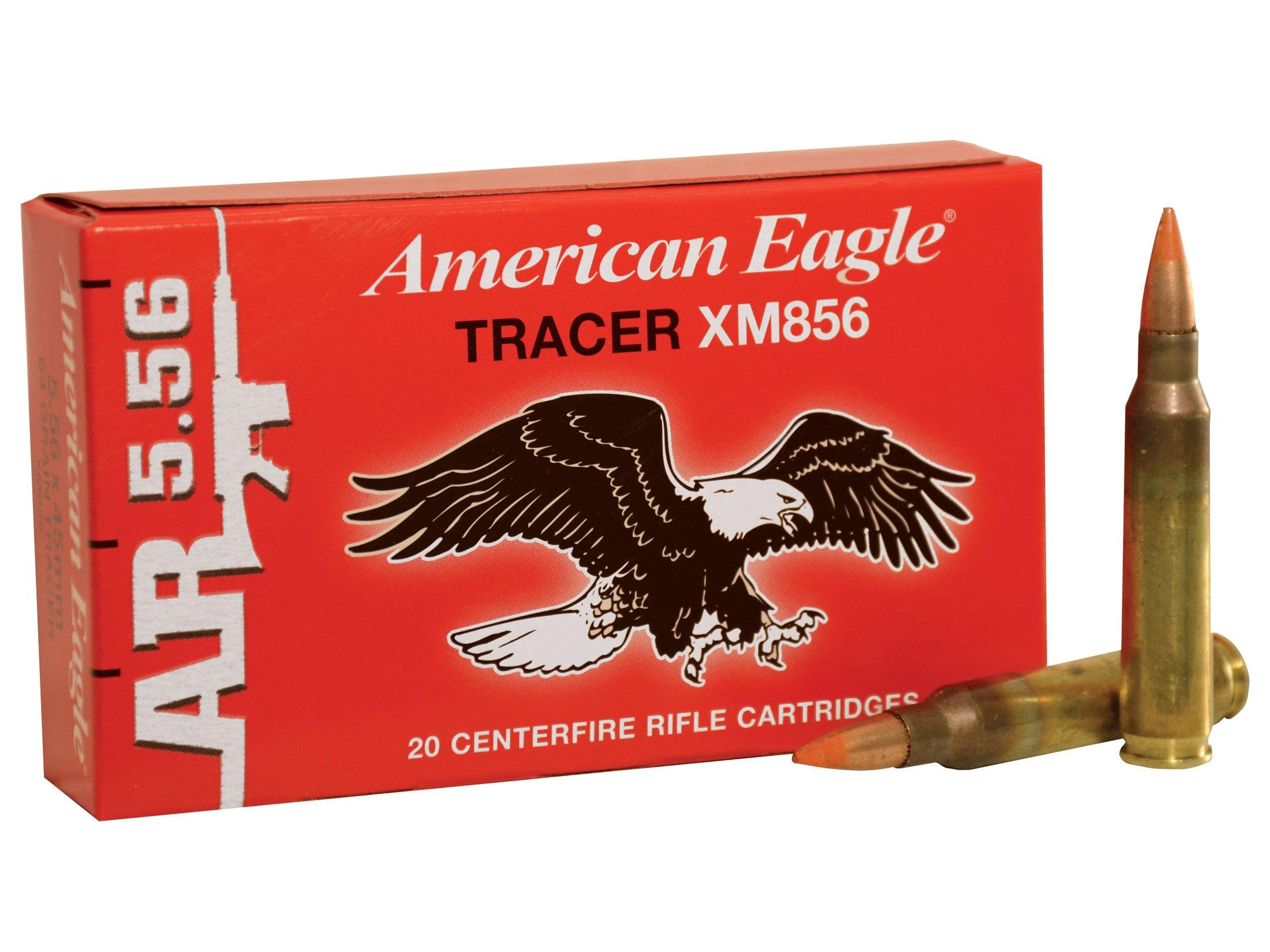 Federal American Eagle Tactical Tracer Ammo 5 56x45mm NATO 64 Grain