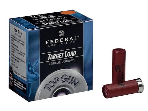 "Federal Top Gun Ammunition 12 Gauge 2-3/4"" 1-1/8 oz"