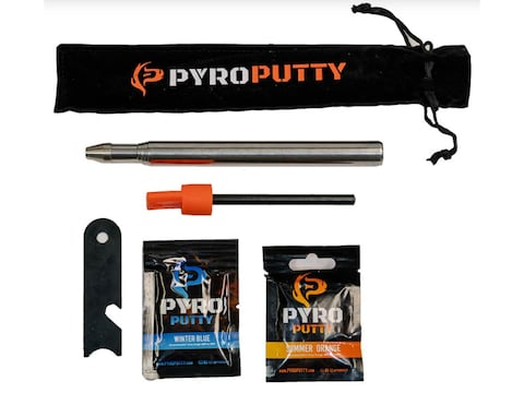 Pyro Putty Telescoping Pocket Fire Bellow and Fire Starter Kit