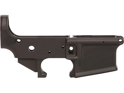 Lauer Custom Weaponry AR-15 Stripped Lower Receiver Anodized Black