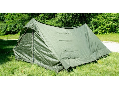 Military Surplus NATO 2 Man Tent Olive Drab