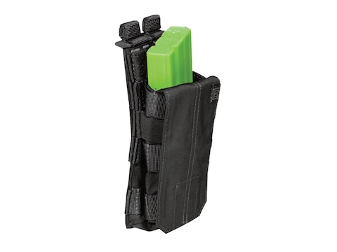 5.11 Single AR-15 Magazine Pouch with Bungee Cover Nylon