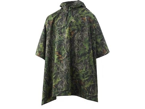 Nomad Poncho Polyester Mossy Oak Shadow Leaf