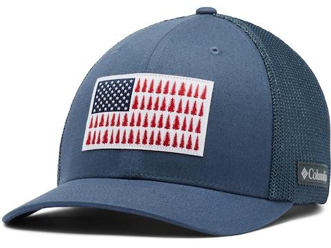 Columbia Men's Tree Flag Mesh Cap