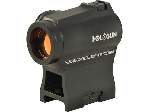 Holosun HE503R-GD Elite Micro Gold Dot Sight 1x 65 MOA Circle with 2 MOA Dot Picatinny-...