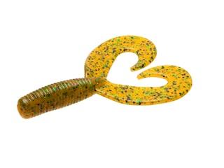 Zoom Fat Albert Twin Tail Grub Rootbeer Pepper Green