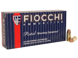 Fiocchi Shooting Dynamics Ammunition 40 S&W 170 Grain Full Metal Jacket Truncated Cone Case of 1000 (20 Boxes of 50)