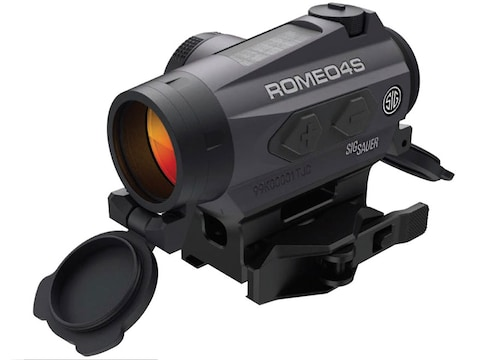 Sig Sauer ROMEO4S Red Dot Sight 1x Ballistic Reticle Torx and Quick-Release Mounts Sola...