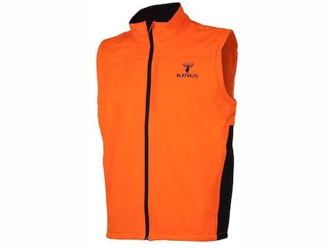 King's Camo Men's Soft Shell Vest Polyester