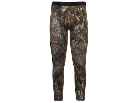 ScentBlocker Men's Cold Fusion Catalyst Underguard Base Layer Pants Polyester/Merino Wool