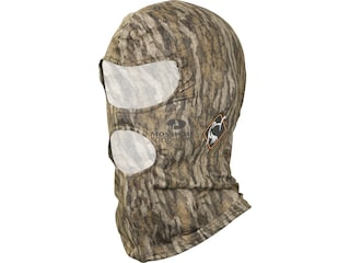 Ol' Tom Performance Full Face Mask Polyester Mossy Oak Bottomland Camo