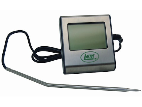 LEM Meat Thermometer With Alarm and Timer