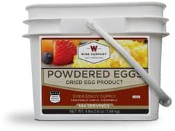 Wise Company 144 Serving Powdered Eggs Freeze Dried Food Kit