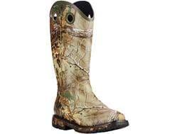 "Ariat Conquest Buckaroo 16"" Waterproof Hunting Boots Rubber Realtree Xtra Camo Men's"