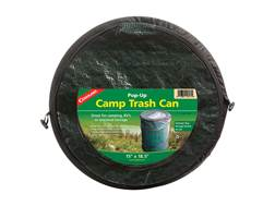 Coghlan's Mini Pop-up Camp Trash Can Polyethylene Black