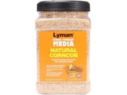 """Lyman Turbo Brass Cleaning Media Corn Cob 6 lb """"Easy Pour Container"""""""