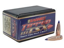 Barnes Tipped Triple-Shock X (TTSX) Bullets 338 Caliber (338 Diameter) 185 Grain Spitzer Boat Tai...