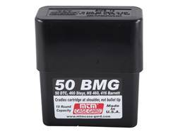 MTM Slip-Top Ammo Box 50 BMG 10-Round Plastic Black