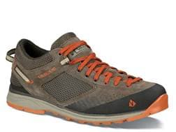 """Vasque Grand Traverse 4"""" Hiking Shoes Leather Bungee Cord and Rooibos Tea Men's"""