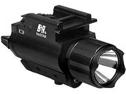 NcStar Weapon Light White LED with Green Laser Sight Quick-Release Weaver/Picatinny-Style Mount B...