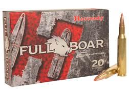 Hornady Full Boar Ammunition 270 Winchester 130 Grain GMX Boat Tail Lead-Free Box of 20