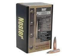 Nosler Partition Bullets 264 Caliber, 6.5mm (264 Diameter) 125 Grain Spitzer Box of 50