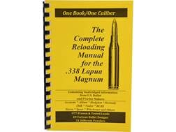 "Loadbooks USA ""338 Lapua Magnum"" Reloading Manual"