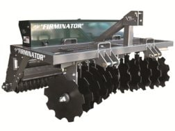 """Ranew's Outdoor Equipment Firminator G-3 Food Plot Implement with 16"""" Cultipackers and Agitator"""