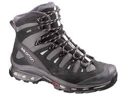 """Salomon Quest 4D 2 GTX 6"""" Waterproof GORE-TEX Hiking Boots Synthetic and Leather Detroit/Black/Na..."""
