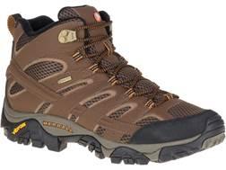 "Merrell Moab 2 Mid Gore-Tex 5"" Waterproof Hiking Boots Leather/Nylon Men's"