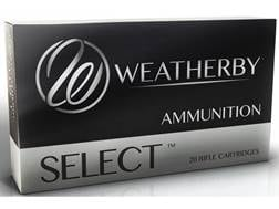 Weatherby Select Ammunition 6.5-300 Weatherby Magnum 140 Grain Soft Point Box of 20