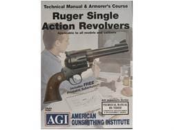 """American Gunsmithing Institute (AGI) Technical Manual & Armorer's Course Video """"Ruger Single Acti..."""
