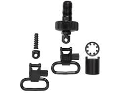 "Uncle Mike's Quick Detachable Sling Swivel Cap Set 12 Gauge 1"" Black"