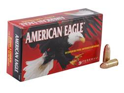Federal American Eagle Ammunition 9mm Luger 115 Grain Full Metal Jacket