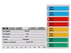 MTM Peel and Stick Reloader's Labels Rifle/Handgun Pack of 50 and Colored Box Stickers Pack of 48