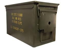 Military Surplus Ammo Can 50 Caliber Grade 1