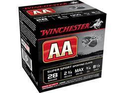 "Winchester AA Super Sport Sporting Clays Ammunition 28 Gauge 2-3/4"" 3/4 oz #8-1/2 Shot"