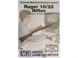 """American Gunsmithing Institute (AGI) Technical Manual & Armorer's Course Video """"Ruger 10/22 Rifle..."""