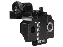 Williams 5D-SH Receiver Peep Sight Benjamin 340, 342, 347,392, 397, Sheridan Model C Aluminum Black