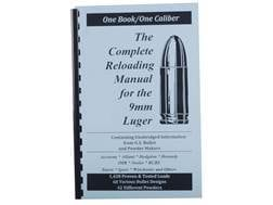 "Loadbooks USA ""9mm Luger"" Reloading Manual"