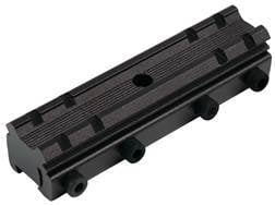 """TRUGLO 1-Piece Adapter Scope Base 3/8"""" Groove to Weaver-Style Base Matte"""