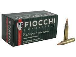 Fiocchi Extrema Ammunition 204 Ruger 40 Grain Hornady V-MAX Point Box of 50