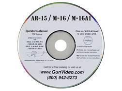 """Gun Video """"AR-15 Operators Manual"""" CD-ROM"""